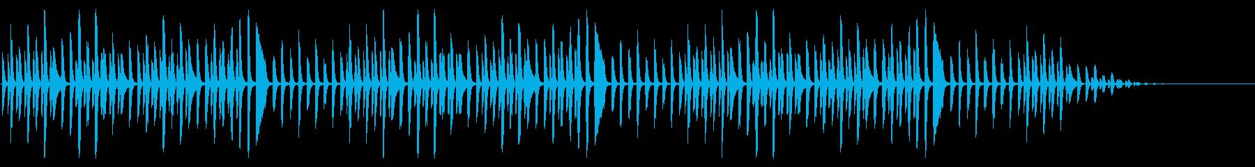 ヨドバシカメラで有名な曲のピアノソロの再生済みの波形