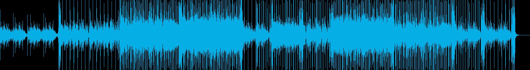 Funkなリードと切ないギターリフが特徴の再生済みの波形
