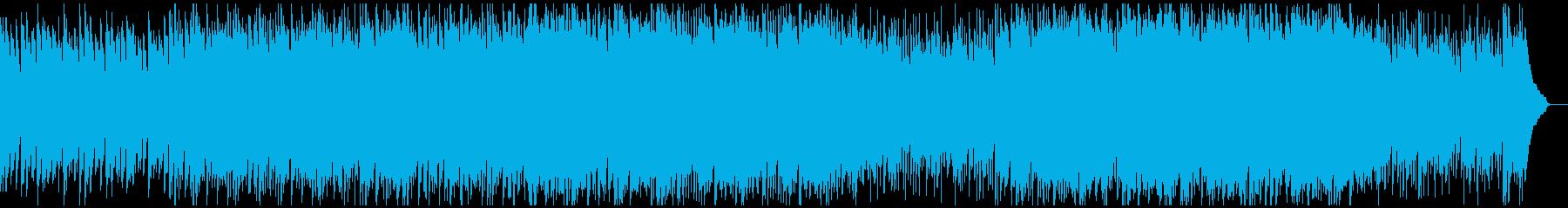 心がウキウキ晴れやかな気持ちになるBGMの再生済みの波形