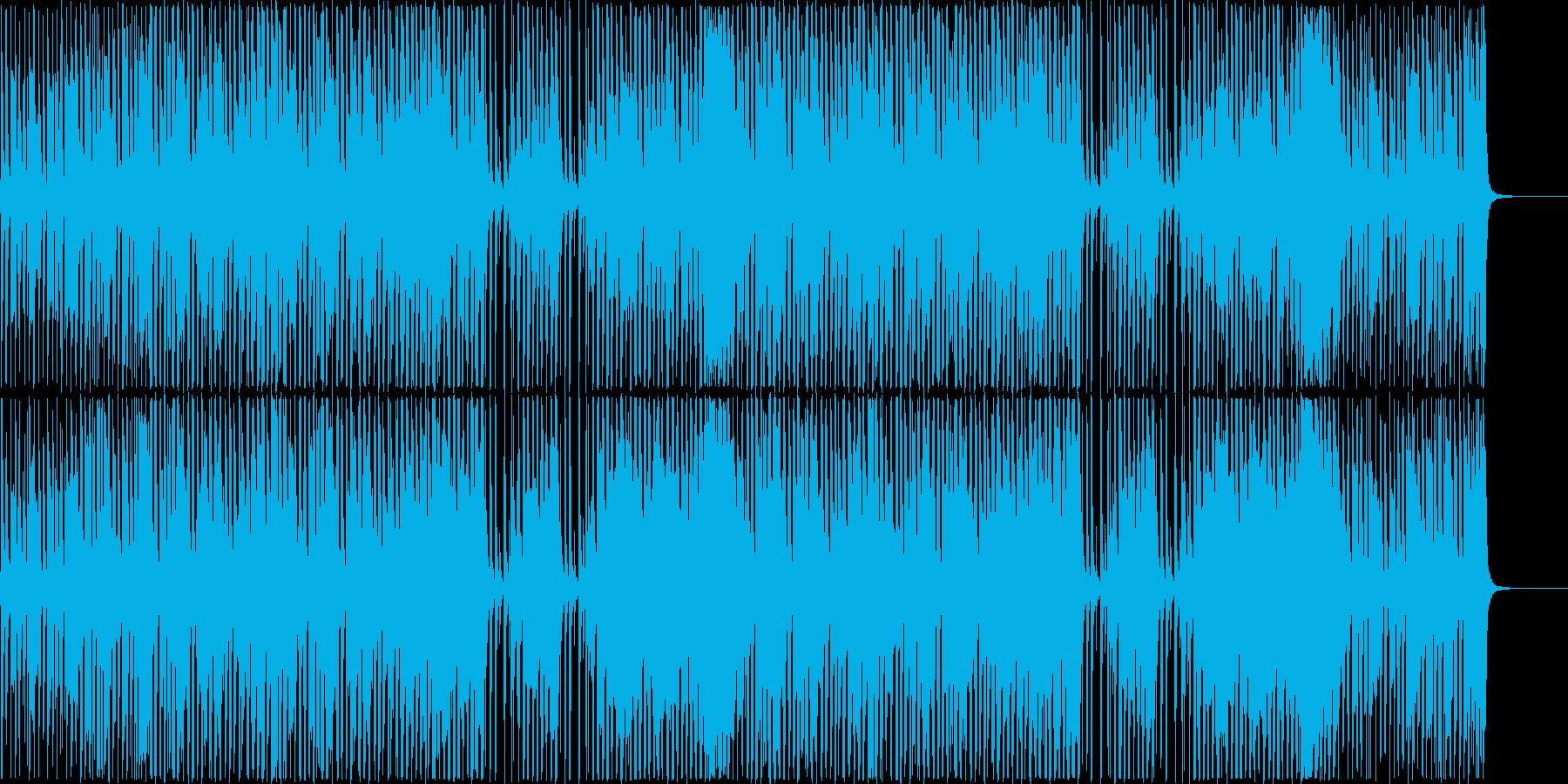 企業VP/CM向け楽しく元気な口笛BGMの再生済みの波形