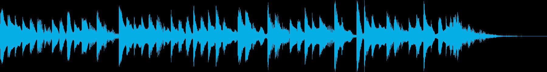 ラジオ ミニマルなジングルの再生済みの波形