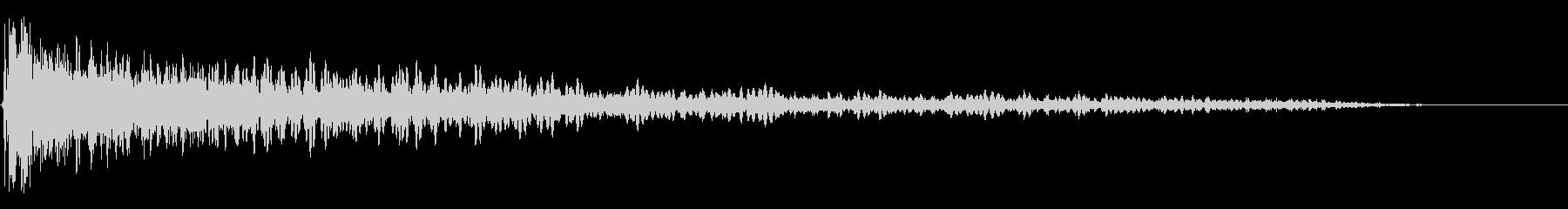 カスケード歪みのダウンによる音色の...の未再生の波形