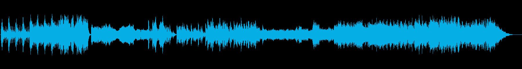 シンプルな楽器構成で美しいアンサンブルの再生済みの波形