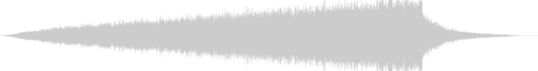 CINEMATIC RISER_40の未再生の波形