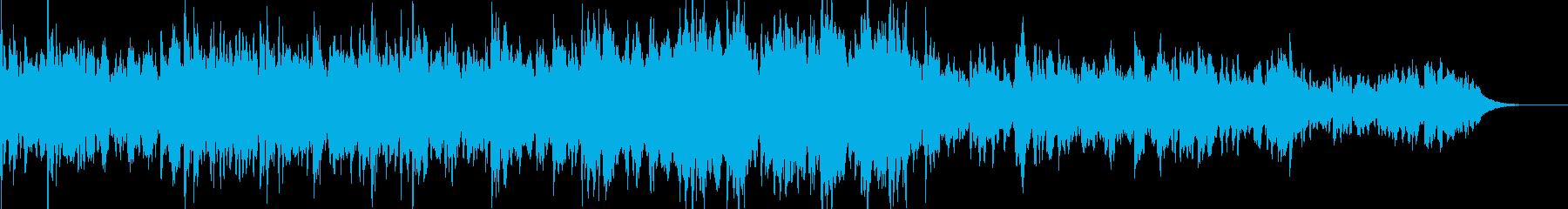 虹のイメージとお告げの曲/占い・タロットの再生済みの波形
