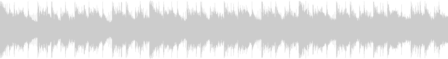 決断の時を表現したHip-Hop ループの未再生の波形