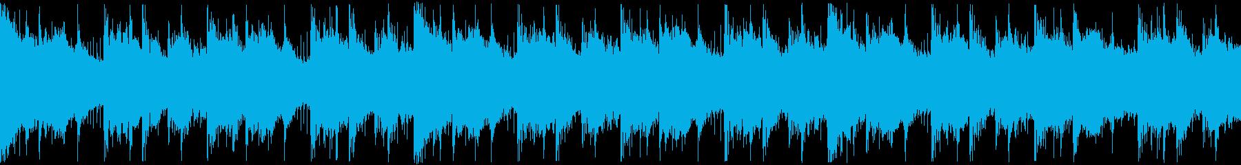 決断の時を表現したHip-Hop ループの再生済みの波形