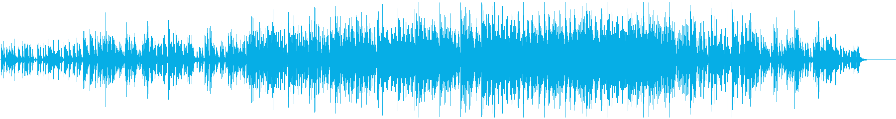 キュートでハッピーなエレクトロポップの再生済みの波形