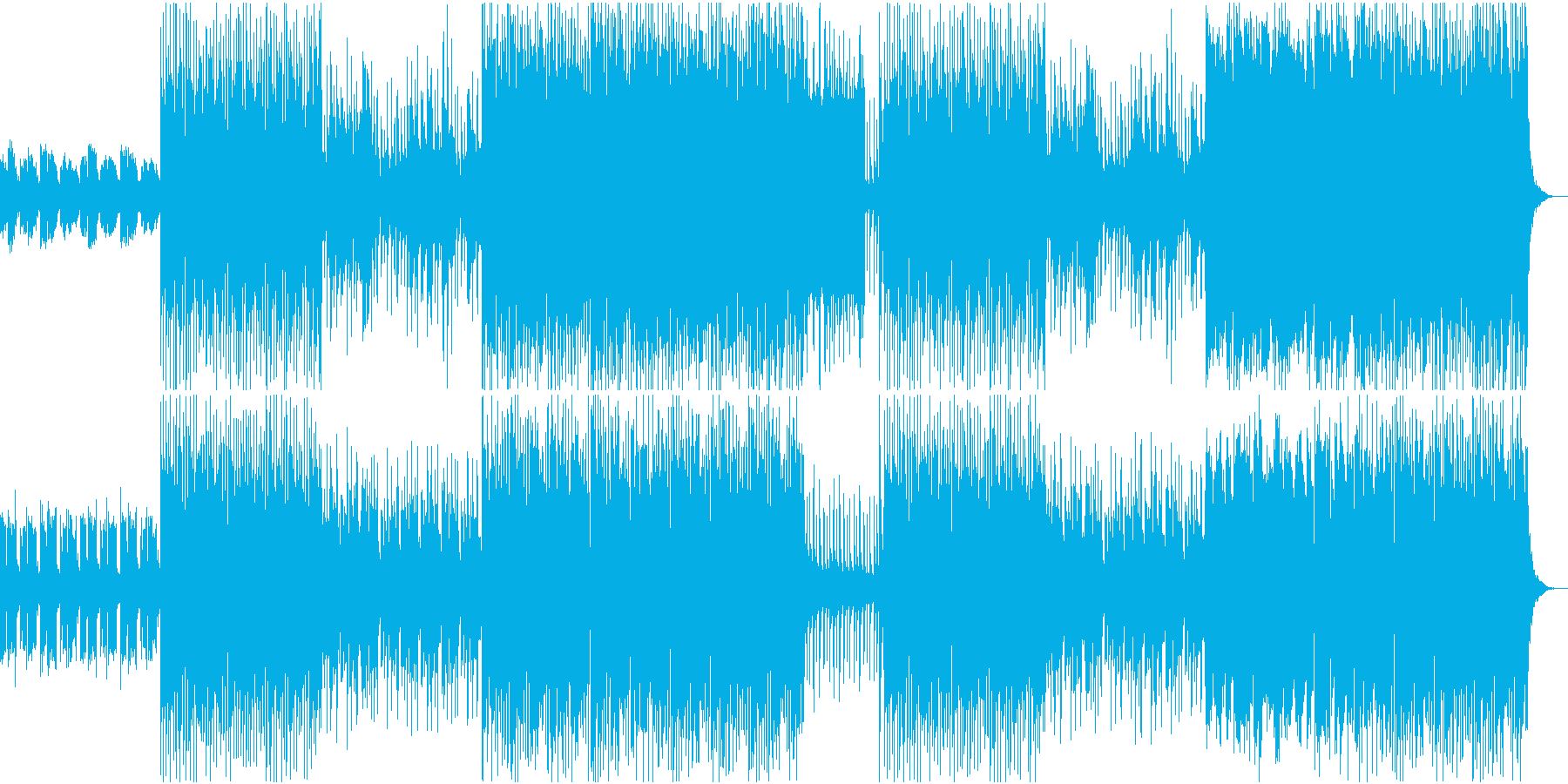 ゆっくり・まったり・のんびりの再生済みの波形