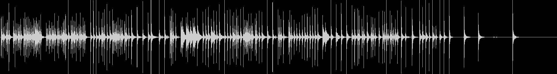 三味線48娘道成寺27日本式レビューショの未再生の波形