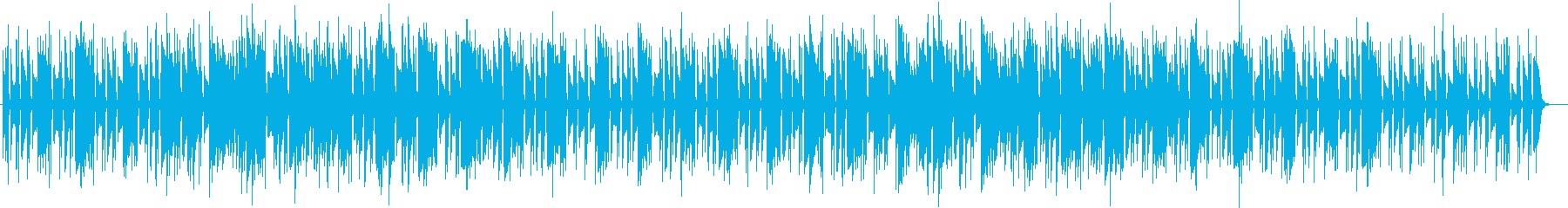 ほのぼの雰囲気のアコースティックデュオの再生済みの波形