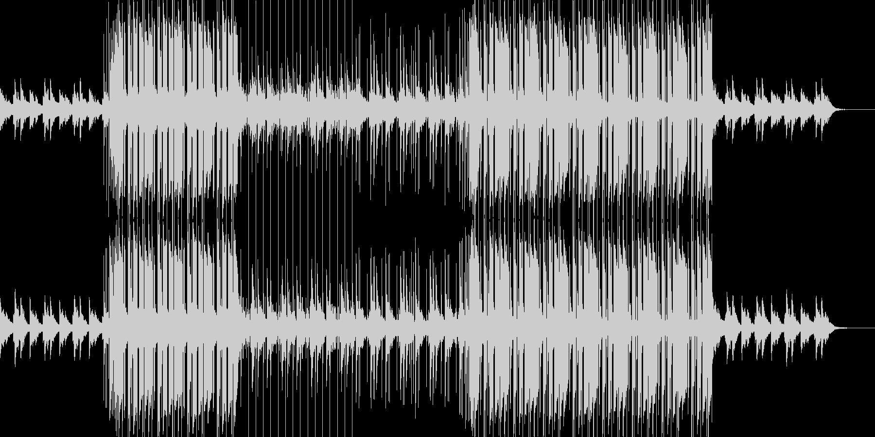 切なくエモいクールなLofiヒップホップの未再生の波形