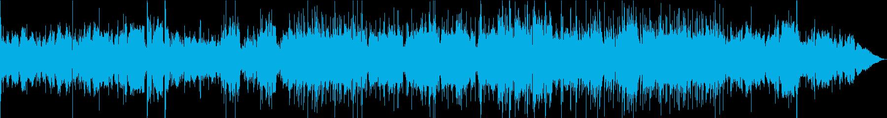 二胡が奏でるシルクロード、中華ポップスの再生済みの波形