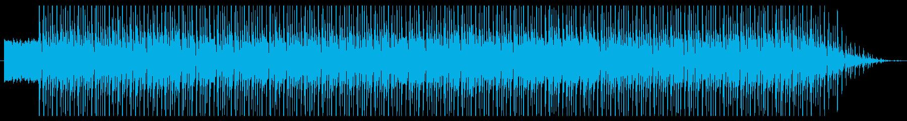 アメリカ南部の陽気なジャングルビートの再生済みの波形