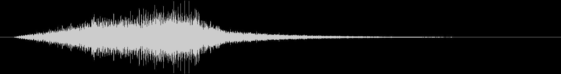 フェイドイン ストリングス オケヒットの未再生の波形
