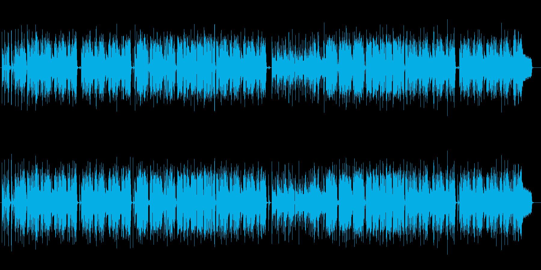 コントみたいなおマヌケな一曲の再生済みの波形