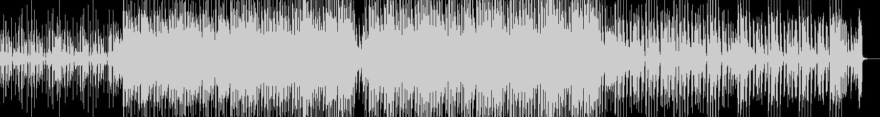 Calm deep house's unreproduced waveform