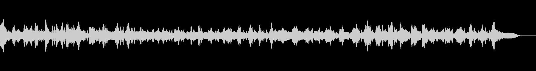 有名なバッハのチェロソロのクラシック音楽の未再生の波形