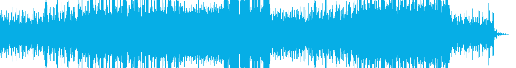 ヘヴィなリディムトラップ・ダブステップの再生済みの波形