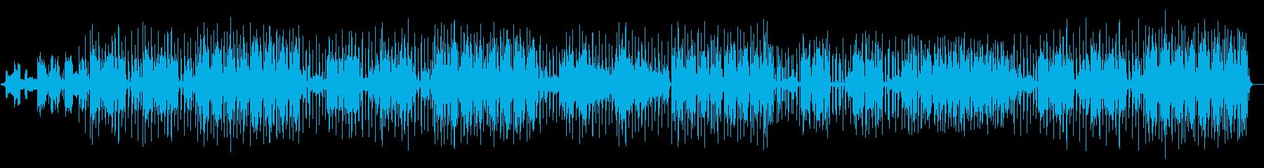 探偵・スパイの日常を描くファンクナンバーの再生済みの波形