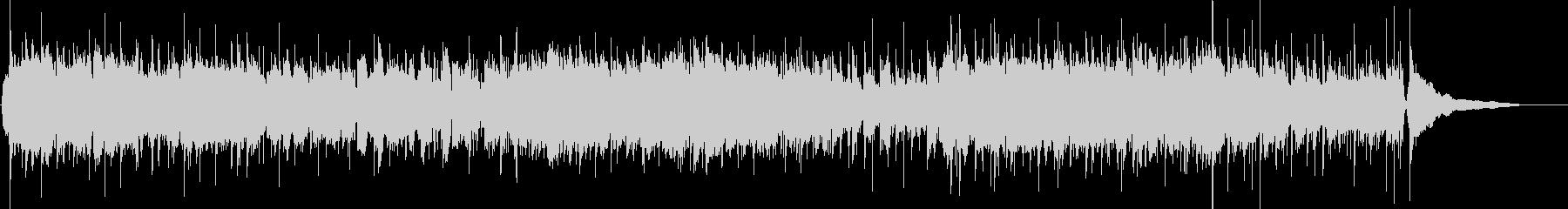 フルートがメインの明るいメロディの曲1の未再生の波形