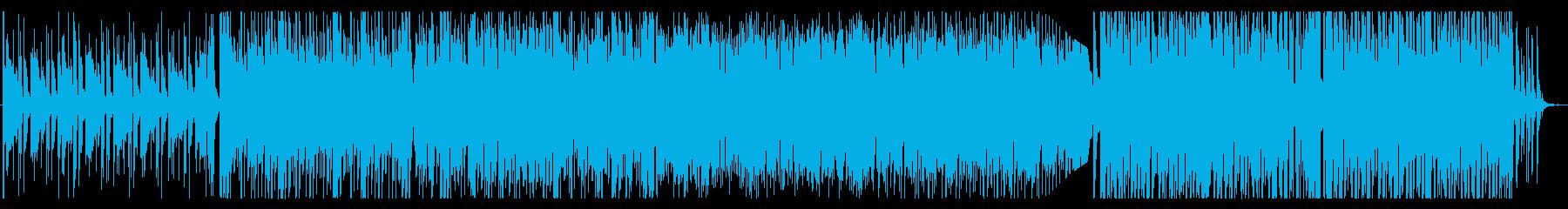 ハウス/楽しい夏、トロピカルな曲の再生済みの波形