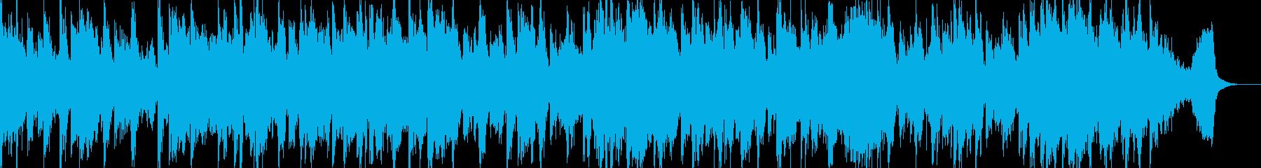 サスペンス、ホラー系にピッタリのBGMの再生済みの波形