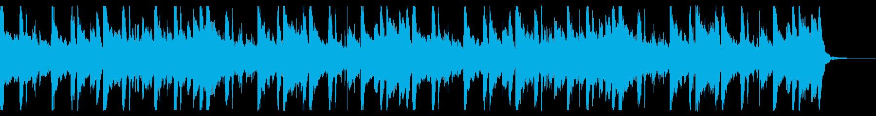 ローファイヒップポップ_No587_4の再生済みの波形