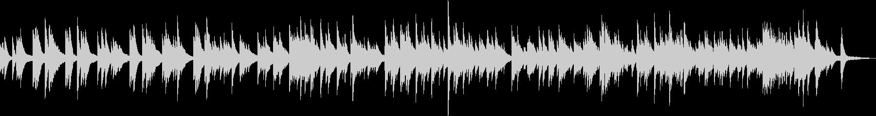 優しいピアノバラード(温かい・落ち着く)の未再生の波形