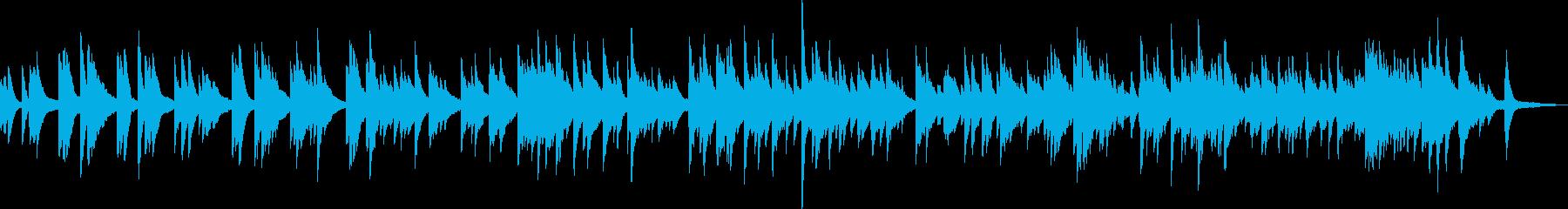 優しいピアノバラード(温かい・落ち着く)の再生済みの波形