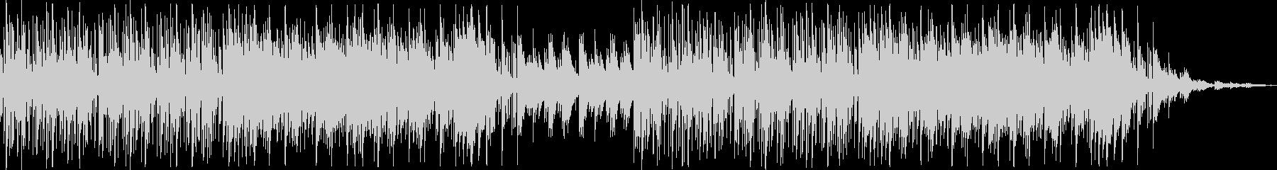 日常系 シンセの音を使い近未来的な雰囲気の未再生の波形