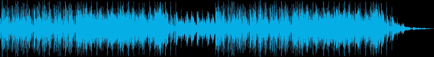 日常系 シンセの音を使い近未来的な雰囲気の再生済みの波形