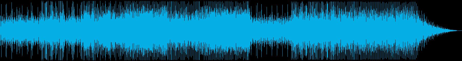 癒しのあるシンフォニックなエレクトロの再生済みの波形