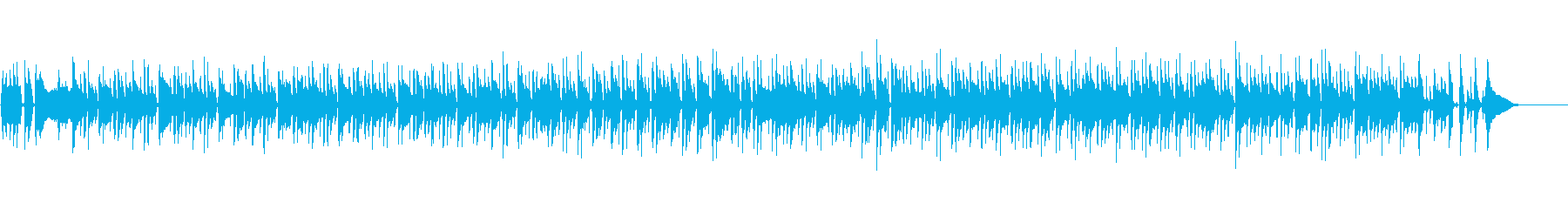 【メロなし】爽やかアコースティックボッサの再生済みの波形