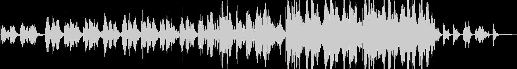 優しく穏やかなピアノソロ曲を結婚式に02の未再生の波形