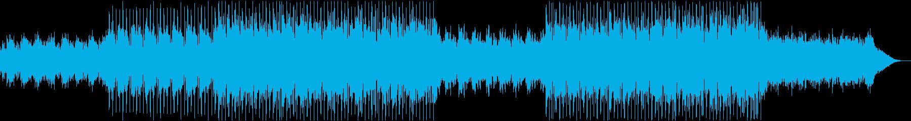 まったり、夏の終わりBGMの再生済みの波形