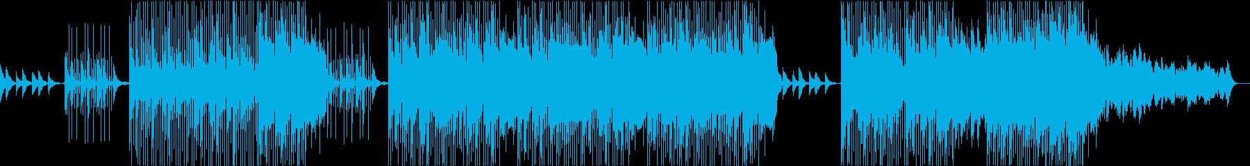 レトロ・ジャジーでチルLoFiなBGMの再生済みの波形