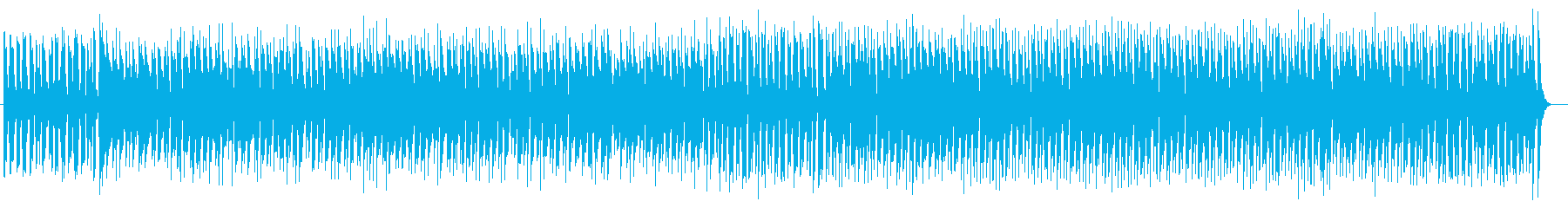 思わず歩き出してしまうようなポップ音楽の再生済みの波形