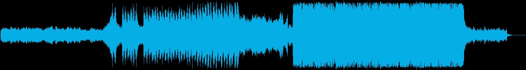 RPG/星空/バトル/オーケストラの再生済みの波形