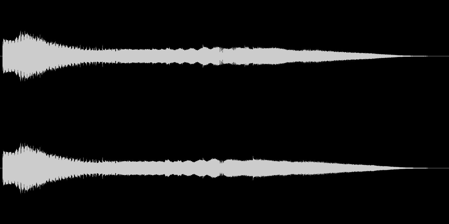 機械 Atonal Rhythm ...の未再生の波形