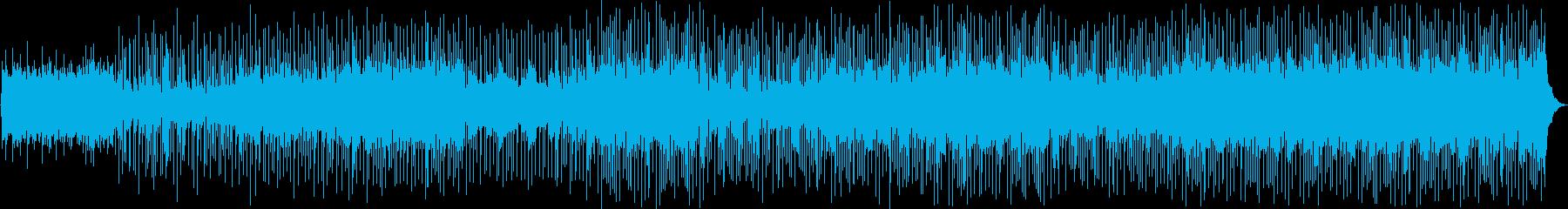 ゆったりとしたピアノ、アコースティ...の再生済みの波形