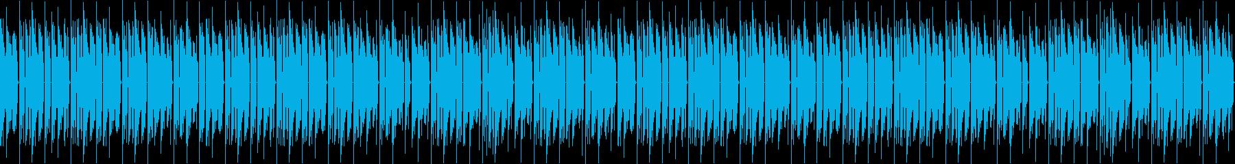 レトロ、ゲーム、ピコピコ、軽快、ループ1の再生済みの波形