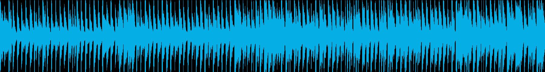 幸せで使いやすいレゲエトラック。ド...の再生済みの波形