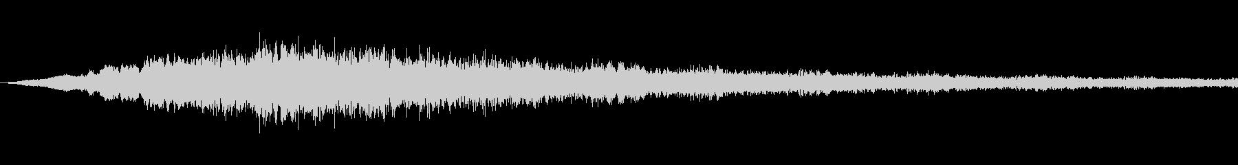 SFっぽい音その5です。「ヴウウウウウ…の未再生の波形