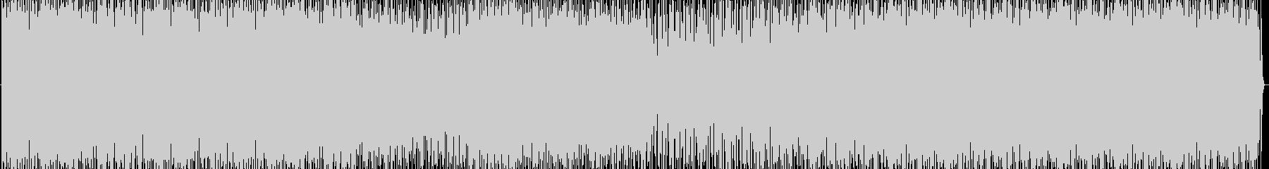 脈打つエレクトロニカグルーヴには、...の未再生の波形