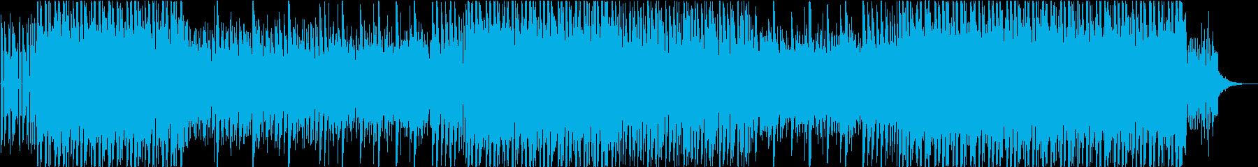 シネマティック風サウンドのヒップホップの再生済みの波形
