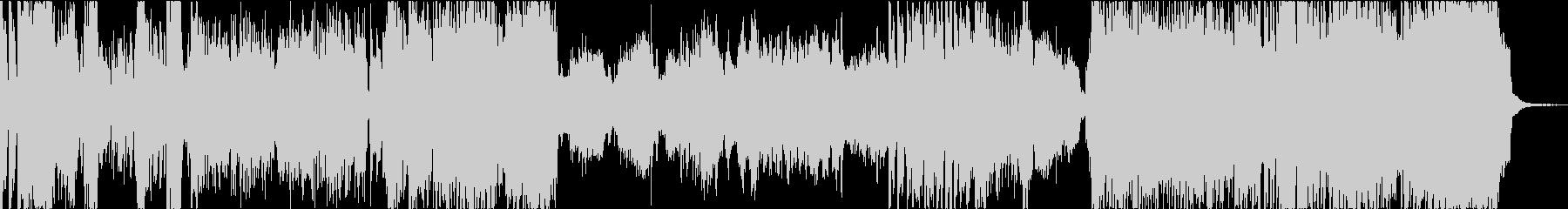 笛と弦楽器、ピアノの雄大なインストの未再生の波形