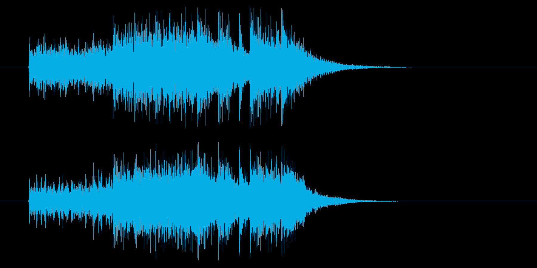 ジングル(次回はどうなる?)の再生済みの波形