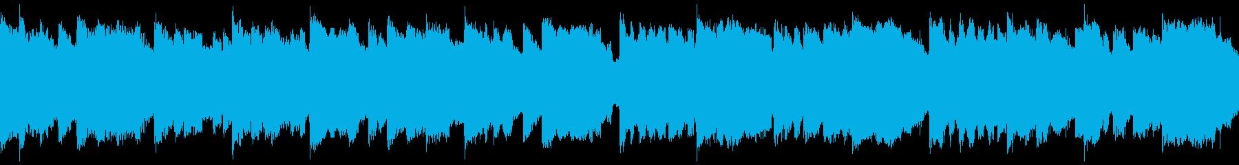 ゆる~いほのぼのかわいいリコーダーの再生済みの波形