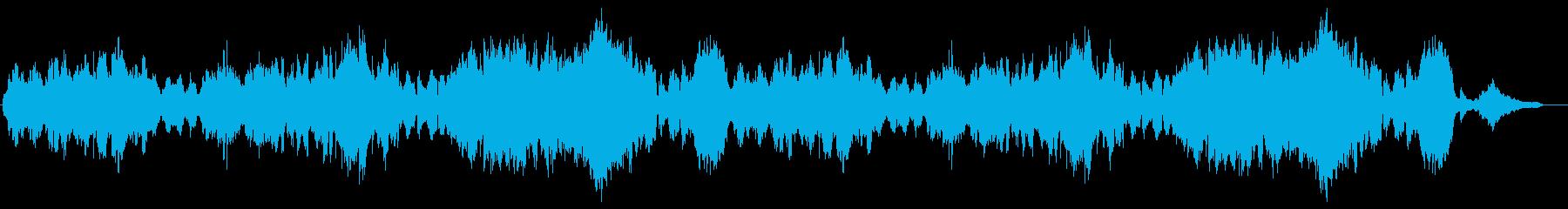 オーボエとトランペットのやさしいバラードの再生済みの波形